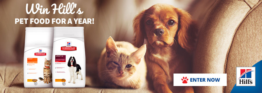 Win Hill's Pet Food for a Year
