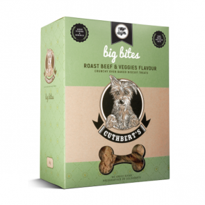 Cuthbert's Roast Beef & Veggies Large Bites Dog Biscuits