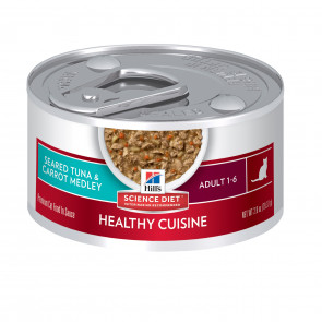 Hill's Seared Tuna & Carrot Medley Canned Cat Food