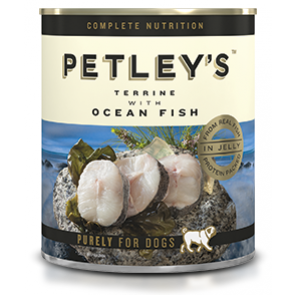 Petley's Terrine with Ocean Fish Canned Dog Food