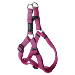 Rogz Utility Step-In Reflective Dog Harness-Pink