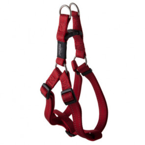 Rogz Utility Step-In Reflective Dog Harness-Red