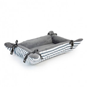 Wagworld Cupcakes Uni-Pet Bed Grey Stripe